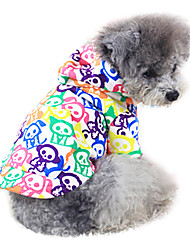 Dog Coat Red / Yellow / Blue / White Dog Clothes Winter Fashion