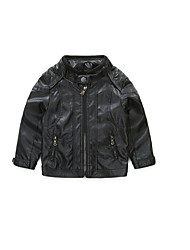 Boy's Casual/Daily Solid Jacket & CoatAcrylic Spring / Fall Black