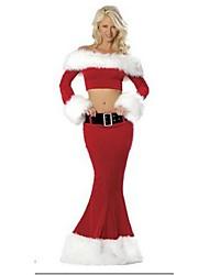 Cosplay Kostüme Rot / Rot & Weiß Terylen Cosplay Accessoires Weihnachten / Karneval