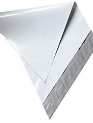 17 * 30 bolsa impermeable a prueba de agua blanca (12 hilos 100 / paquete)