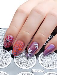 1pcs Nail Art Sticker  Diecut Manicure Stencil Makeup Cosmetic Nail Art Design