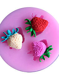 1PC Bread Mold Baking Mold Cake Mold 3D Liquid Silicone Random Color