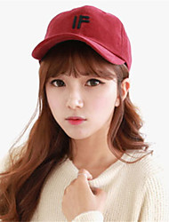 Women Men Casual Three-dimensional Letters Embroidery Dome Cotton Baseball Outdoor Hip-Hop Sun Hat