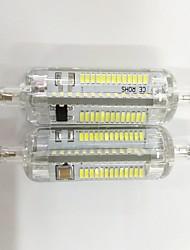 7W R7S Ampoules Maïs LED T 104 SMD 3014 600lm lm Blanc Chaud / Blanc Froid Décorative V 2 pièces