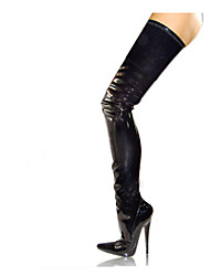 Women's Boots 18CM Heel Height Sexy Pointed Toe Stiletto  Heel  Party  Over The Knee Boots Boots