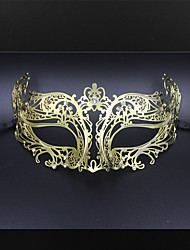 Mask with Rhinestone Details Laser Cut Metal Masquerade Mask Womens2002A3