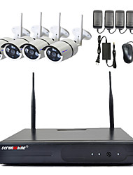 Strongshine@720P/960P/1080P Megapixel Wireless IP Camera& 4CH 2.4G Wireless NVR Kits