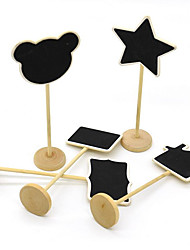 Korea Tips Message Small Price Skewer Blackboard Board Seats At The End Of The Card 15G