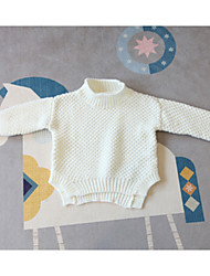 Boy's Casual/Daily Solid Sweater & CardiganCotton Spring / Fall White / Gray