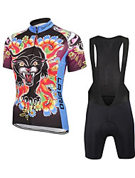 Sports Bike Cycling Clothing Sets Suits Men's Short SleeveBreathable  Ultraviolet Resistant  Quick Dry  Anatomic Design