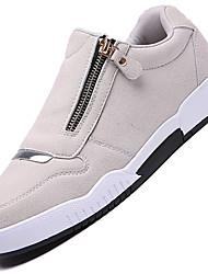 Men's Sneakers Spring / Summer / Fall / Winter Comfort Suede Outdoor / Athletic /  Zipper Black / Blue / GrayTennis /