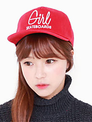 Casual Big Red Letter Embroidery Patterns Print Hip-Hop Flat Baseball Caps Sun Hat  For Men And Women