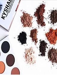 9 Lidschattenpalette Trocken Lidschatten-Palette Kompaktpuder Set Alltag Make-up / Party Make-up / Feen Makeup