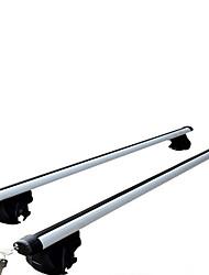 carro bagagem trilhos do rack telhado trilhos liga de alumínio universal quadro de carro bicicleta