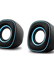 mini haut-parleur USB stéréo portable voiture l'audio extension