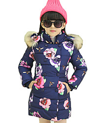 Girl's Casual/Daily Plaid Suit & Blazer,Cotton Winter Blue