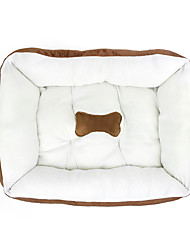 Short plush bones pet nest Autumn and winter Keep warm nest Thickening durable soft Comfortable Pet Nest mat Dog and cat kennel