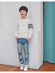 Boy's Casual/Daily Solid Sweater & CardiganAcrylic Winter / Fall White