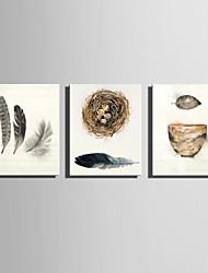 canvas Set Vida Imóvel Estilo Europeu,3 Painéis Tela Vertical Impressão artística wall Decor For Decoração para casa
