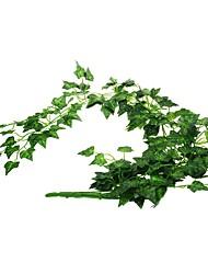 рептилия террариум аквариума искусственные пластиковые растения листья лозы зеленые