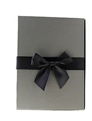 Size 29.0*20.5*6.0 Cm Silver Grey Rectangle Drawing Paper Business Gift Gift Boxes