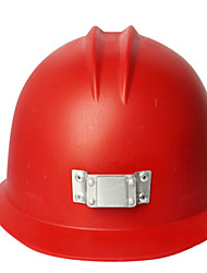 Red New Security Miners Hat