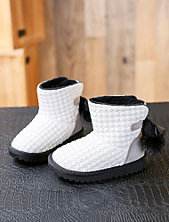 Girl's Boots Comfort Synthetic Casual Black / White