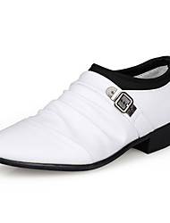 Men's Oxfords Fashion Leather Shoes Wedding / Party & Evening / Casual Shoes Slip-on EU38-43