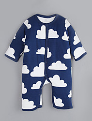 Baby Casual/Daily Print One-Pieces,Cotton Winter / Fall Long Sleeve