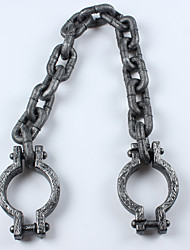 1PC Halloween  Props   Thick  Chain Prisoners  Foot Chain  Hand Chain