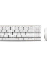 pro (rapoo) 9160 drahtlose optische dünne Tastatur Anzug Tuhao Gold-Version