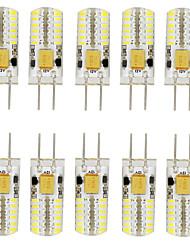 3W G4 Luces LED de Doble Pin T 48 SMD 3014 140-160 lm Blanco Cálido / Blanco Fresco / Blanco Natural Decorativa / Impermeable V 10 piezas