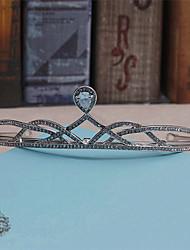 Mujer Diamantes Sintéticos Perla Artificial Celada-Boda Ocasión especial Casual Tiaras Coronas 1 Pieza
