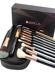 5 Makeup Brushes Set Horse / Synthetic Hair Professional / Portable Wood Eye / Lip