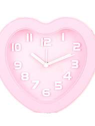 Lovely Lazy To Get Up Heart-Shaped Alarm Clock