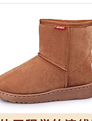 Girl's Boots Fall / Winter Comfort Cotton / Fabric Dress / Casual Flat Heel Others Black / Coffee / Taupe Walking