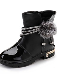 Girl's Boots Spring / Fall / Winter Snow Boots / Motorcycle Boots / Bootie / Comfort Leather Outdoor /  Casual  Zipper