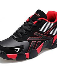 Men's Sneakers Spring / Fall Comfort Fabric Casual Flat Heel  Black / Blue / Red Sneaker