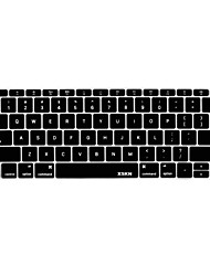 XSKN English Language Silicone Keyboard Skin Cover for Macbook 12'' US Version
