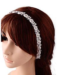 Women's Satin Headpiece-Wedding Special Occasion Head Chain 1 Piece