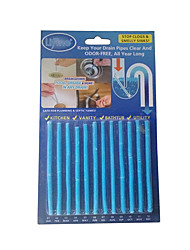 12 Pack Sani Cleaing Sticks Keep Your Drains Pipes Clear and Odor-Free