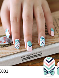 Lc Series Nail Stickers