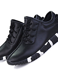 Unisex Sneakers Spring / Fall / Winter Comfort Leather Outdoor / Athletic / Casual Lace-up Black / Red / White Tennis /