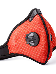 Pollution Protection Mask Bike Breathable Lightweight Materials Comfortable Women's Men's Unisex Peach Mesh/Net