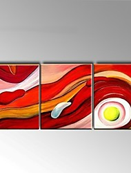 Hand Painted Oil Painting Modern Abstract Home Office Wall Art with Stretched Framed