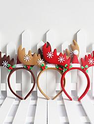 Weihnachtsschmuck Weihnachts Schneeflocken&Geweih Stil Stirnband