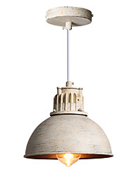20cm Max 60W Vintage Simple Loft mini Pendant Lights Metal Dining Room Kitchen Bar Cafe Hallway Balcony Light Fixture