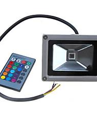 Dc12-24v 10w красочные rgb инфракрасные пульт дистанционного управления огни rgb пейзаж огни