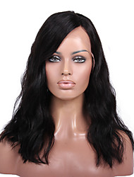 8 bis 16 Zoll kim bob brasilianisches Menschenhaar lose Welle Perücken für Afroamerikaner Frauen glueless Spitzefrontseiten-Perücken