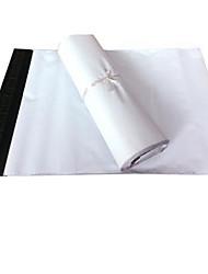 sac paquet express blanc taille 28 * 40cm (un paquet de 100)